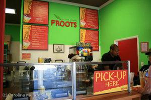 Froots Juice Bar and Internet Cafe, Grand Turk
