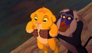 The Lion King and Horus