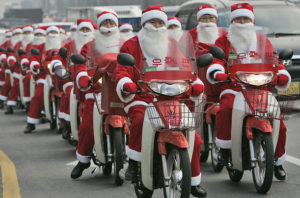 All Santas Look the Same