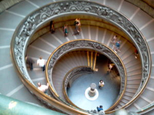 Vatican Circular Staircase taken by Gateway To Gold, Cathy Eck