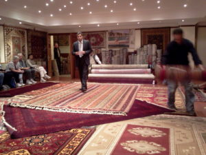 Rug merchants in Turkey