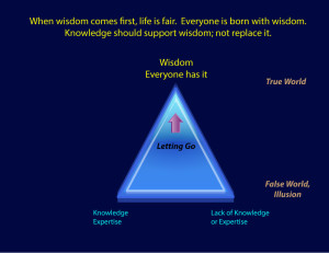 Knowledge needs to support wisdom