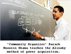 Barack Obama follower of Saul Alinsky