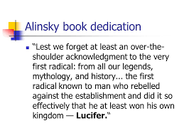 Lucifer and Saul Alinsky