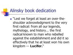 Lucifer and Saul Alinsky